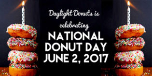 Win a Dozen from Daylight Donuts for National Donut Day