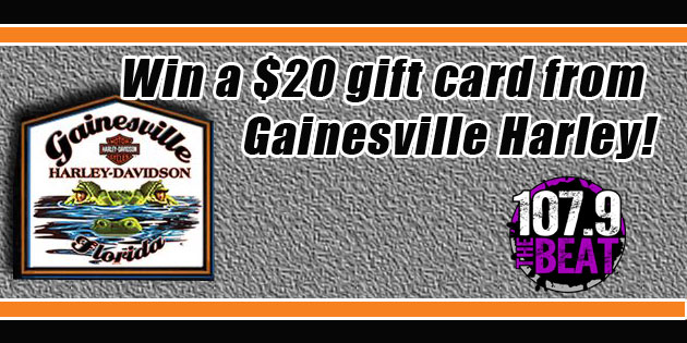 Win a Gainesville Harley Gift Certificate!