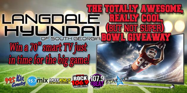 The Langdale Hyundai TV Giveaway