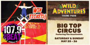 WIN TICKETS TO WILD ADVENTURES THIS MEMORIAL DAY WEEKEND!