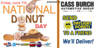SEND DONUTS TO A FRIEND FOR NATIONAL DONUT DAY!