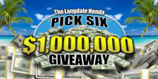 The Langdale Honda Pick Six Million Dollar Giveaway