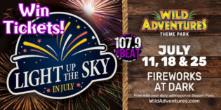Wild Adventures is Lighting Up the Sky in July!