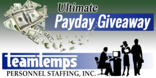 TeamTemps Ultimate Payday Giveaway